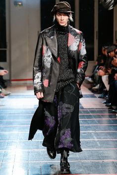 <3  Oooooh!  Outfitgasm!  This is the only one I've had for the entire Men's FW 2014 season.  Yohji Yamamoto | Fall 2014 Menswear Collection | Style.com