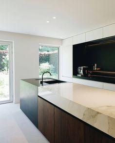 Kitchen - BC House near Leuven Belgium by Dieter Vander Velpen