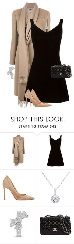"""""""Untitled #4087"""" by saskiasnow ❤ liked on Polyvore featuring Givenchy, Gianvito Rossi, EWA and Ruban"""