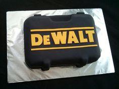 DeWalt Groom's cake