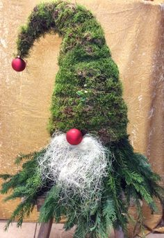 we from the flower gallery also weighted Christmas Party Decorations, Tree Decorations, Christmas Wreaths, Christmas Crafts, Holiday Decor, Scandinavian Gnomes, Xmas Tree, Yule, Diy And Crafts