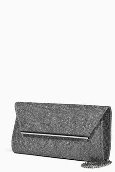 Buy Foldover Clutch Bag from the Next UK online shop Foldover Clutch, Clutch Bag, Latest Fashion For Women, Mens Fashion, Silver Clutch, Next Uk, Uk Online, Clutches, Moda Masculina