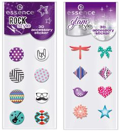 Essence Rock Style – 3D Accessory Sticker Prijs: €1,99