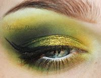 Green and gold eyes