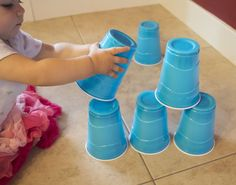 9 Easy Toddler Activities for when you need to keep them busy while you get something done. Little to no setup!