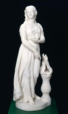 Object Label Joseph Mozier American (1812-1870) The White Lady of Avenel, modeled ca. 1864, carved 1869 Marble Gift of James H. Ricau and Museum purchase 86.490 America's neoclassical sculptors often took their subjects from contemporary British...