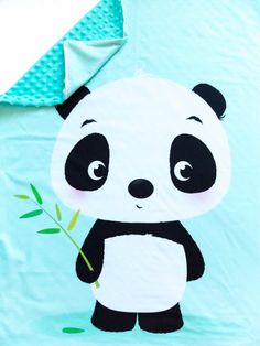 Little Panda blanket baby gift for baby boy for baby by Jousilook Baby Girl Items, Baby Boy Gifts, Kids Gifts, Little Panda, Minky Baby Blanket, Beautiful Babies, Hello Kitty, Patchwork Ideas, Nursery