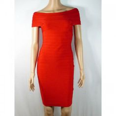 Herve Leger Bandage elagant Dress Bright red. Only $279.00 | See more about herve leger bandage, herve leger and dresses.