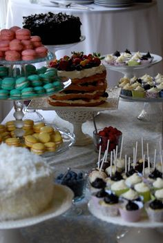 wedding cakes macaroons - Google Search