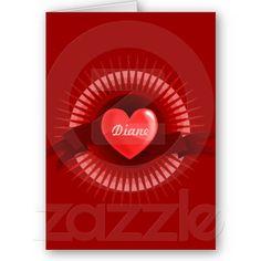 In My Heart Card by elenaind