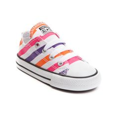 Toddler Converse All Star Lo Candy Stripe Sneaker