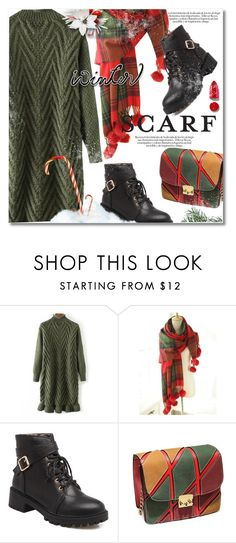 """""""Winter Scarf Style"""" by svijetlana ❤ liked on Polyvore featuring Rodin, vintage, scarf and twinkledeals"""