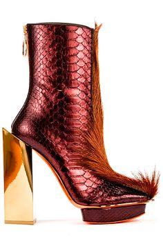 John Galliano - Women's Accessories - 2014 Fall-Winter -ShazB