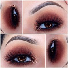 maroon eye makeup Shaded color Wedding Budget Challenge Article Body: As you plan your Makeup Goals, Makeup Inspo, Makeup Inspiration, Makeup Tips, Beauty Makeup, Eye Makeup, Hair Makeup, Makeup Ideas, Makeup Art
