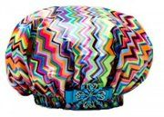 Dry Divas Shower Cap - Miss So Diva Chevron Print - great Valentine's Day gift for you DIVA!