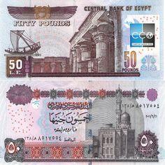 Les 7 meilleures images de Billets Egypte | Billet de banque, Billets et Egyptien