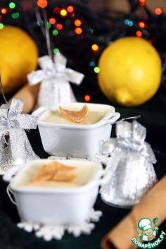 Лимонный поссет - кулинарный рецепт