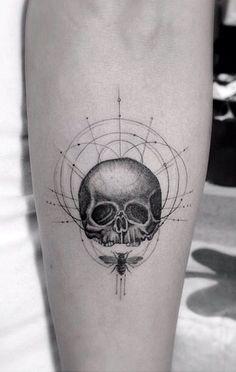http://tattoomagz.com/tattoos-by-dr-woo/brilliant-skull-tattoo-by-dr-woo/