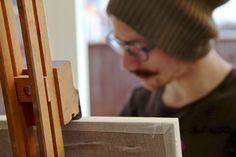 Matthieu Leger Artist Studio Shoots Leicestershire - Anna Lucia Sadler impactvisuALS