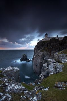Neist Poiint Lighthouse, Isle of Skye, Scotland.