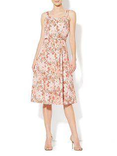 Eva Mendes Collection - Annabelle Dress - Heritage Rose Print