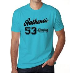 #authentic #blue #tshirt #gift #men Think vintage, be cool! Shop the t-shirt now, online --> https://www.teeshirtee.com/collections/authentic-blue-mens-t-shirt/products/53-authentic-blue-mens-short-sleeve-rounded-neck-t-shirt-100-cotton-available-in-sizes-s-m-l-xl-xxl