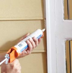 How to Weatherize Your Home: Weather stripping and caulking around windows and doors are small projects that can have a big impact on how much energy – and money – you can save throughout the year. DIYers of any skill level can take on these easy updates and increase the energy-efficiency of their home.