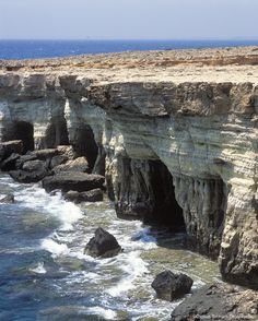 Agia Napa, Sea Caves, Cyprus / Love Your Mother <3