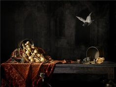 """Still life, Plague Doctor"" 2011 foto chromogenic print (80x60) Erwin Olaf (Hilversum, Paesi Bassi 1959)"