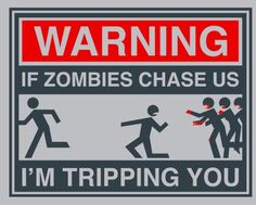 Survival Zombie Apocalypse:  #Zombie Warning.