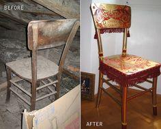 """""""Baroque Tea Party"""" chair by Evalula, via Flickr"""