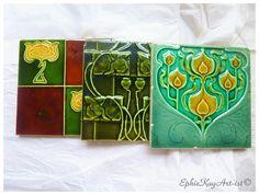 Art Nouveau Tiles Victorian Tiles Minton Tiles Decorative