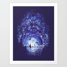 Earnest Art Print by Robson Borges - $17.00