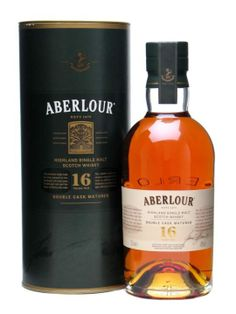Abelour 16 Year--Highland Region--A rich, dry nose, with scented floral and sweet raisin aromas, gives a full, sweet floral and spicy flavor with a hint of plum and gentle oak. Finishes with a long, warm spicy fruitiness. This whisky can be sampled at Riverwood Winery