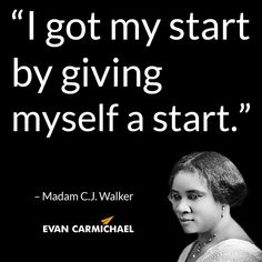 Madam Cj Walker Quotes Glamorous Madam Cj Walker Quote Www.asummermoon  Mindset Quotes . Decorating Design