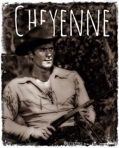 Cheyenne! Cheyenne Bodie, Cool Pictures, Beautiful Pictures, James Drury, Clint Walker, Tv Westerns, Old Movie Stars, Western Movies, Hairy Chest