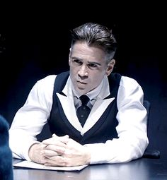 arkhamsnight:  me trying to figure out why, in god's good name, is johnny depp playing gellert grindelwald when colin farrell is alive and well  gif credits @willemdafoe sorry i didn't tag you earlier!