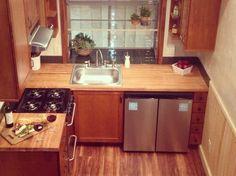 California Tiny House Kitchen
