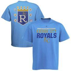 Kansas City Royals Cooperstown Collection Call Bullpen T-Shirt - Blue - $18.99