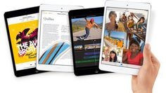 Ipad mini retina, ya disponible en Apple Store
