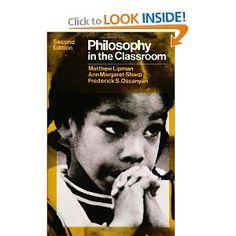 Philosophy in the Classroom: Matthew Lipman: 9780877221838: Amazon.com: Books
