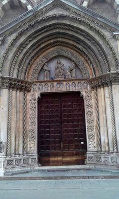 San Lorenzo gothic church , Vicenza , Italy