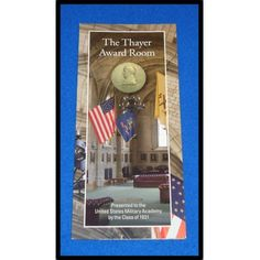 BRAND NEW CHARMING WEST POINT THAYER AWARD ROOM UNITED STATES MILITARY ACADEMY - $1.99