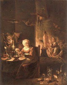 David Teniers the Younger Hexenszene