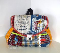 Rucksack+mit+Namenskette++von+Fi-Ma-KiS+auf+DaWanda.com