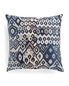 22x22+Chenille+Pattern+Pillow