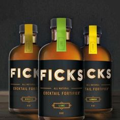 Ficks Cocktail Fortifier