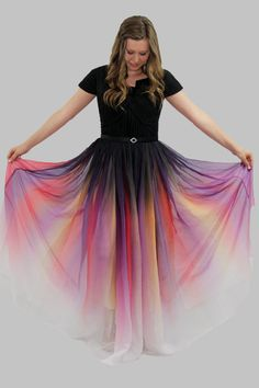 Modest Homecoming Dress, Modest Prom, Mormon Prom, LDS, Modest Prom Dress with Sleeves