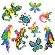 Perler Fun Fusion Kit-Rare Bugs 'N Birds