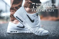 Whether you're just starting out or you want some lazy day exercises for when you're not really feeling it, then these workouts…